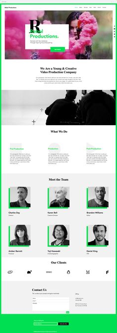 Video Production Company | Website Template