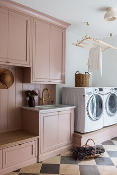 Laundry Room Inspiration, Le Shop, Curtain Designs, Custom Cabinetry, Commercial Design, Decorating Your Home, Decorating Ideas, Mudroom, Home Appliances
