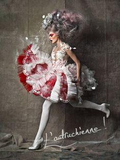 Boudoir: Rocking Baroque campaign