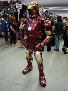 Iron Man at Montreal Comic Con 2012