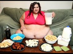Morbidly obese woman has no plan to stop eating