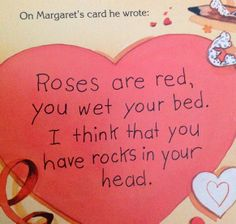 Nicole Leigh Shaw, Tyop Aretist: You're My Favorite Today and Roses Are Pink, You're Feet Really Stink #humor #kiddielit Character Assassination Carousel