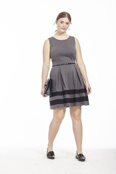 Sleeveless Pleated Dress by Taylor Dresses  Available in sizes 10/12 and 14W-24W