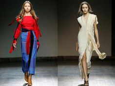 Fashion Week Tbilisi looks for day and night by Flow the Label and Nino Babukhadia.