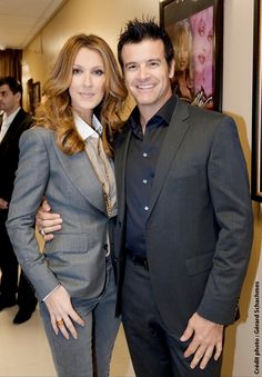 Celine Dion and Roch Voisine