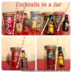 DIY Holiday Gift Idea - Cocktails in a Jar
