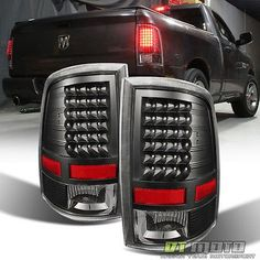 Details about Dodge Ram 1500 2500 3500 Pickup LED Tail Lights Black Lamps Left+Right - All For House İdeas Dodge 3500, Dodge Ram 2009, 2018 Dodge, Dodge Ram 1500 Accessories, Ram Accessories, Pickup Truck Accessories, Ram Trucks, Dodge Trucks, Cool Trucks