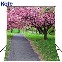 300Cm*200Cm(About 10Ft*6.5Ft) Fundo Blooms Between Forest Trail3D Baby Photography Backdrop Background Lk 2123