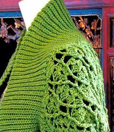 Crochet X Stitch Shrug : ... Crochet 5, Boleros, Crochet Lace, Boleros Crochet, Crochet Inspiration