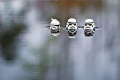 Stormtrooper skinny dipping