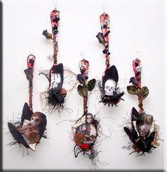 Hween Altered Spoons  ♥