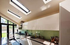 Object Architecture - London's Bespoke Crafted Architecture - Nigel Buckie - Residential - Contemporary Kitchen Refurbishment - Skylights Skylights, Refurbishment, Bespoke, Ceiling Lights, Contemporary, Architecture, Kitchen, Projects, Home Decor