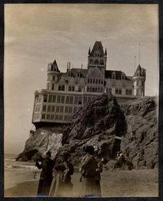 San Francisco's historic Cliff House circa the 1900s.