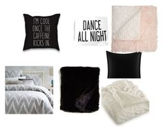 """""""Bedding Dream"""" by ava-johnson-lindemann-jenner on Polyvore featuring interior, interiors, interior design, home, home decor, interior decorating, Betsey Johnson, West Elm, Nordstrom and Hotel Collection"""