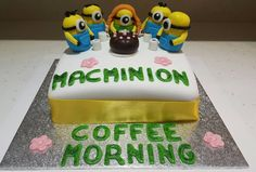 Macminion Coffee Morning Cake