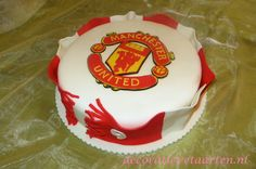 Taart 'Manchester United'