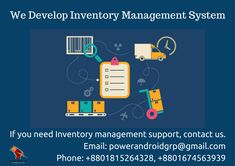 We develop Inventory Management System. If you need one, contact us. Email: powerandroidgrp@gmail.com Phone: +8801815264328, +8801674563939  #google #business #job #programming #code #studio #skill #android #ios #website #webdevelopment #iTunes #playstore #apps #top_software_developer #top_android_developer #best_it_company #Marketing #Business #Software #Apps #Mobile #Entrepreneur #Sales #Digital #Tools #top_software_company_in_bangladesh #inventory Software Apps, Business Software, Inventory Management, Android Developer, Contact Us, Competitor Analysis, Web Development, Programming, Itunes