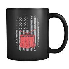 American Field Drum Mug