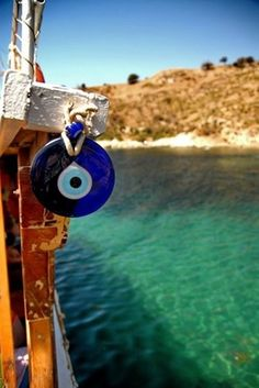 Greece -- evil eyes are everywhere for protection
