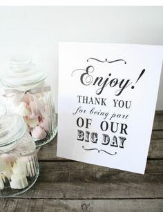 Shabby Chic/Vintage Candy Buffet Sign/Candy Bar/ Sweets/Table Sign/Wedding/Party   eBay