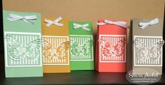 Siara Sweet Sensations: Stampin Up Gift Bag Punch Board with 2015-2017 In Colors and Butterfly Basics stamp set