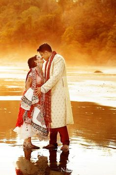 This bride and groom tie the knot in a beautifully intimate Indian wedding ceremony at Villa Punto de Vista!  http://www.puntodevistacr.com  #LuxuryWedding #CostaRicaWedding #DestinationWedding