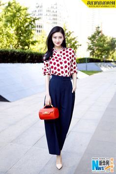Chinese actress Jing Tian