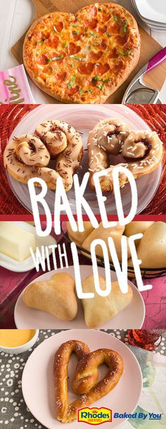 Share your love around the table this Valentine's Day with Rhodes Bake-N-Serv®.