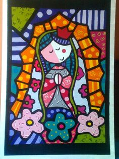 Arte Country, Graffiti Painting, Mexican Folk Art, Religious Art, Pattern Wallpaper, Graphic, Art Lessons, Pop Art, Art Projects