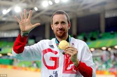 Sir Bradley Wiggins won his fifth Olympic gold medal in the men's team pursuit on Friday
