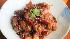 General Tso's Chicken – Souped Up Recipes Tso Chicken, Boneless Chicken, Asian Chicken, Asian Recipes, Healthy Recipes, Oriental Recipes, Asian Foods, Eat Healthy, Oriental Food