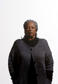 Toni Morrison - oil on canvas by Robert McCurdy. Can you believe this is a painting?