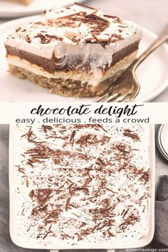 #Dessert #ideas #easy #chocolate #delight brp classfirstletterwelcome to our web pageScroll down for major delight sufficient TopicpIf you use this pin where exclusive size is required the width and height of the pin will also be very important to you Therefore we wanted to give you information about this The width of this pin is 736brThe height of the pin is determined as 1545 You can use the pin quite comfortably in places where this ratio is appropriate blockquoteIf you need different… Chocolate Layer Dessert, Easy Chocolate Desserts, Layered Desserts, Chocolate Delight, Desserts For A Crowd, Fun Desserts, Chocolate Lovers, Best Desserts To Make, Easy Desserts To Bake