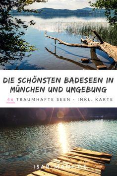 Die schönsten Badeeen in München und Umgebung