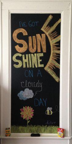 your next chalk board project @Colette van den Thillart van den Thillart Hoekstra