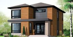 This is a CONTEMPORARY STYLE home. I like it. What Does Your House Style Say About You? | Homesessive.com
