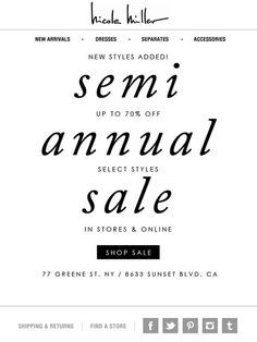 NEVER ENOUGH (new styles added to our semi annual sale) - Nicole Miller