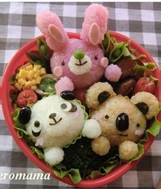 Animal Zoo Kyaraben Bento Lunch © カリメロママさん