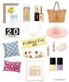 What will you be getting your mama this Mother's day?xo