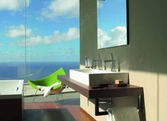 Bathroom with a view, Duravit design