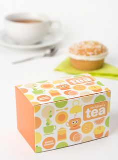 Sara Strand - #tea box #package #design