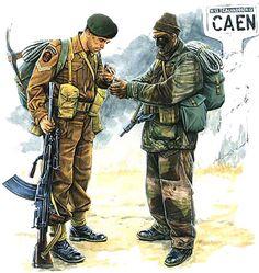 Commandos, Normandy, 1944