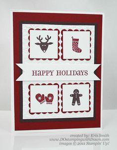 ... Bits Holiday Card - DOstamping