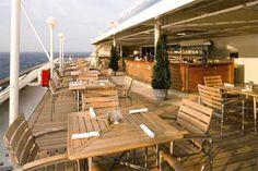 Windows Cafe for casual alfresco dining #AzamaraCruises