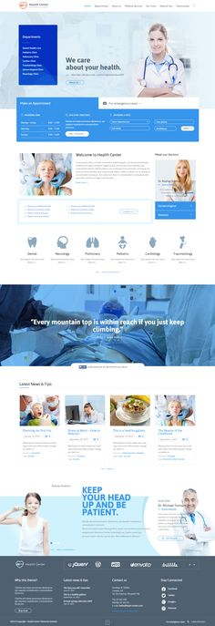 Health Medical Center is Premium full Responsive Retina Parallax WordPress Medical theme. WooCommerce. Drag & Drop. One Page. http://www.responsivemiracle.com/cms/health-medical-center-premium-responsive-wordpress-theme/