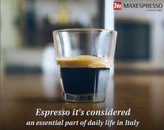 🇺🇸 Espresso is regulated by the Italian government because it is considered an essential part of their daily life 🇪🇸 El Espresso es regulado por el gobierno italiano ya que se considera una parte esencial de su vida diaria