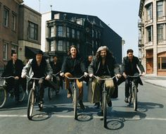 Counting Crows + old bikes = wonderful