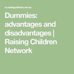 Dummies: advantages and disadvantages | Raising Children Network