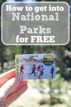If you're looking to get free admission to National Parks this year here is a schedule for the year and how you can get a free pass for your family too!