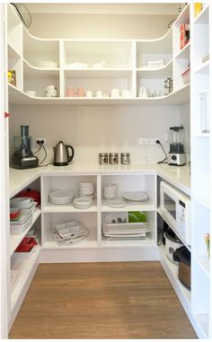 Walk in Pantry for Kitchen